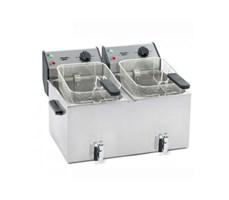 Bếp chiên nhúng đôi dùng điện Roller FD80DR 8l w/Drain Tap