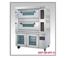 Lò nướng gas Berjaya BSP - 2B + 8PF - G