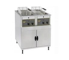 Bếp chiên nhúng đôi dùng điện Roller Grill RF14DS 14L Floor Standing