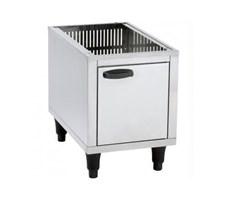 Bếp chiên nhúng dùng gas Roller Grill MS RFG12 Pedestal Cupboard