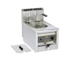 Bếp chiên nhúng dùng gas Roller Grill RFG12 Single 10L Counter Top