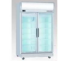 Tủ mát 2 cánh kiếng Display chiller juscool 2D/DC-S-E