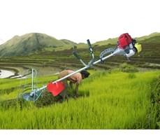 Máy gặt lúa cầm tay