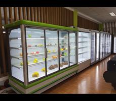Tủ trưng bày siêu thị OKASU NW-799SCM
