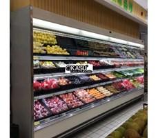 Tủ trưng bày và bảo quan hoa quả siêu thị OKASU OKS-BX2F