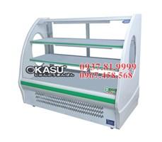 Tủ trưng bày và bảo quản thực phẩm Okasu OKS-KX-1.2WZCT