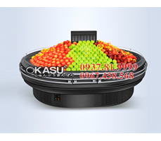 Tủ trưng bày hoa quả siêu thị OKASU OKS-SG17DT