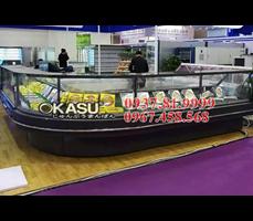 Tủ trưng bày siêu thị OKASU OKS-09ES-C-2.5M