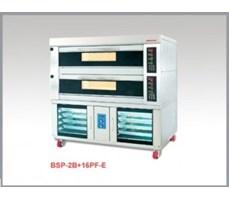 LÒ NƯỚNG ĐIỆN 2 TẦNG 8 KHAY Ủ BỘT BSP-2B+16PF-E