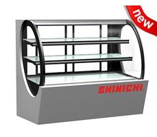Tủ trưng bày bánh kính cong Shinichi SH-840A