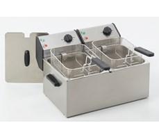 Bếp chiên nhúng điện đôi 2x8L, Roller Grill FD 80 D