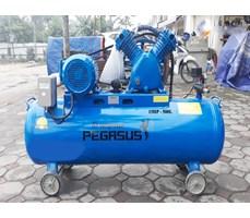 Máy nén khí dây đai Pegasus 7.5HP 2 cấp dùng điện 3 pha TM-W-0.67/12.5-330L