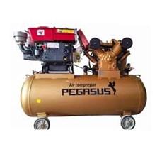 Máy nén khí chạy bằng dầu Diesel 20HP 2 cấp TM-W-2.0/12.5-500L