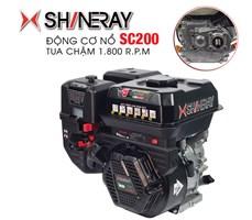 Động cơ xăng tua chậm Shineray SC200
