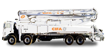 Máy bơm bê tông cần Cifa - K 47 XRZ