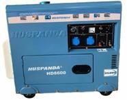 Máy phát điện chạy dầu giảm âm HUSPANDA HD8600