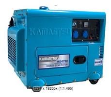 Máy phát điện chạy dầu giảm âm Kamastsu KD-6700