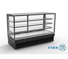 Tủ trưng bày bánh kính vuông Firscool DSF2000