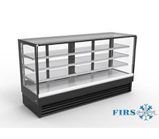Tủ trưng bày bánh kính vuông Firscool DSF2400-27