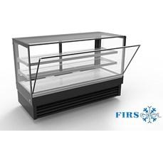 Tủ trưng bày bánh kính vuông Firscool DSFL2000