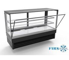 Tủ trưng bày bánh kính vuông Firscool DSFL2400-27
