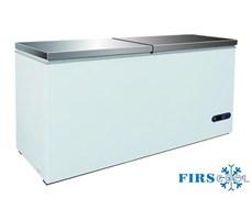 Tủ đông nằm 2 nắp đỡ Firscool G-BD-768 S / S