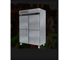 Tủ đông mát đứng 4 cánh inox SSEISO ARD-1400