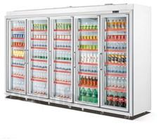 Tủ mát 5 cánh trưng bày siêu thị OKASU OKS-FG32L5F
