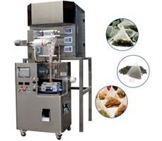 Máy đóng gói trà túi lọc màng nylon 6 đầu cân tự động KTS-160-6