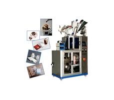 Máy đóng gói cà phê túi lọc kèm vỏ ngoài tự động KTS-181