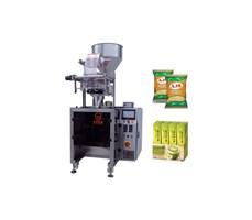 Máy đóng gói bột, hạt định lượng bằng cốc, ép lưng tự động PRO-280V-P
