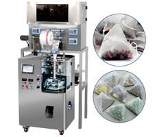 Máy đóng gói trà túi lọc màng nylon 4 đầu cân tự động KTS-160-4