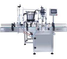 Máy cấp và siết nắp dạng nằm xoay tự động PP-SCM-1R