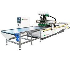 Máy CNC Nesting 4 đầu Holztek PRO-R4F