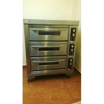 Lò nướng bánh 3 tầng 6 khay điện Berjaya BJY-E20KW-3BD